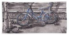Forgotten Banana Seat Bike Beach Towel