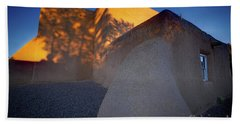 Form And Shadow--san Francisco De Asis - Color Beach Towel by Gary Holmes