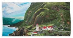 Fort Amherst Newfoundland Beach Towel