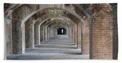 Fort Jefferson Arches Beach Towel
