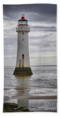 Fort Perch Lighthouse Beach Towel