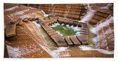 Fort Worth Water Gardens Beach Towel