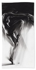 Fount II Beach Towel by Paul Davenport