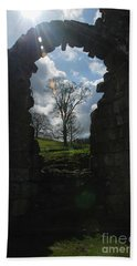 Fountains Abbey Beach Towel