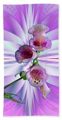 Foxglove Beach Towel