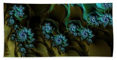 Fractal Forest Beach Towel