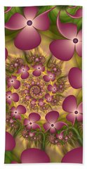 Fractal Joy Beach Towel by Gabiw Art