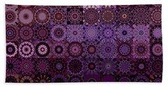 Fractascope Kaleidestry 10x10 Beach Towel