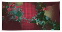 Fractured Visions Beach Towel