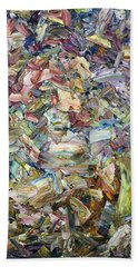 Roadside Fragmentation Beach Towel