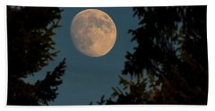Framed Moon Beach Sheet