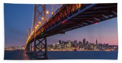 Framing San Francisco Beach Towel