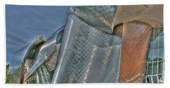 Frank Gehry At Case Western U Beach Towel