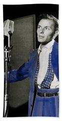 Frank Sinatra - Old Blue Eyes Beach Sheet