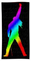 Freddie Mercury 2 Beach Towel