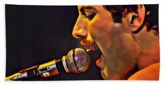 Freddie Mercury 2 Of 4 Beach Sheet