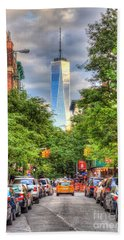 Freedom Tower Beach Sheet