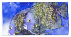 French Angelfish Beach Towel