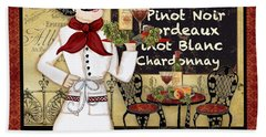 French Chef-d Beach Towel