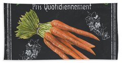 French Vegetables 4 Beach Towel by Debbie DeWitt