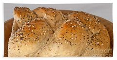 Fresh Challah Bread Art Prints Beach Sheet