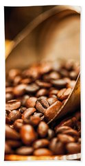 Fresh Coffee Beach Sheet