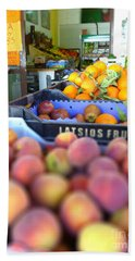 Fresh Fruit Beach Towel by Vicki Spindler