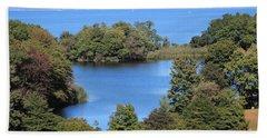 Fresh Pond At Caumsett Beach Sheet