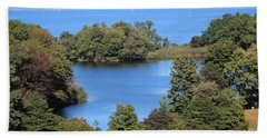 Fresh Pond At Caumsett Beach Towel