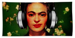 Frida Jams Beach Towel