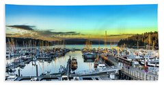 Friday Harbor Beach Towel