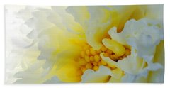 Beach Towel featuring the photograph Frilling by Wendy Wilton
