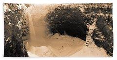 Frozen Falls Beach Sheet