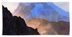 Frozen - Torres Del Paine National Park Beach Sheet