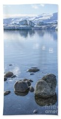 Frozen Serenity Beach Towel