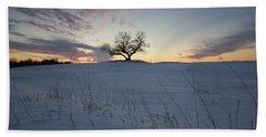Frozen Tree Of Wisdom Beach Towel