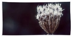 Beach Towel featuring the photograph Frozen Wisps by Melanie Lankford Photography