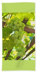 Fruit Of The Vine - Garden Art For The Kitchen Beach Towel