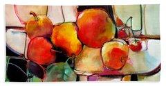 Fruit On A Dish Beach Towel