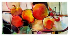 Fruit On A Dish Beach Sheet by Michelle Abrams
