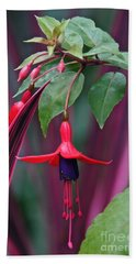 Fuchsia Delight Beach Towel