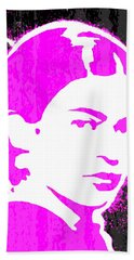 Fuchsia Frida Beach Towel
