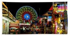 Fun Night At The Fair Beach Sheet