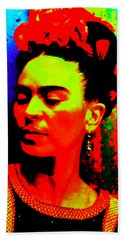 Funky Frida Beach Towel