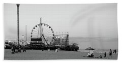 Funtown Pier - Jersey Shore Beach Towel