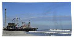Funtown Pier Seaside Heights Nj Jersey Shore Beach Towel
