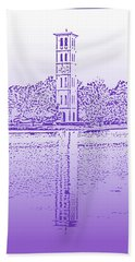 Furman Bell Tower Beach Towel