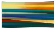 Fury Seascape Panoramic 1 Beach Towel