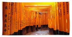 Fushimi Inari Beach Towel
