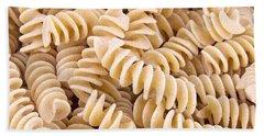 Fusilli Rotini Pasta  Beach Towel by Vizual Studio